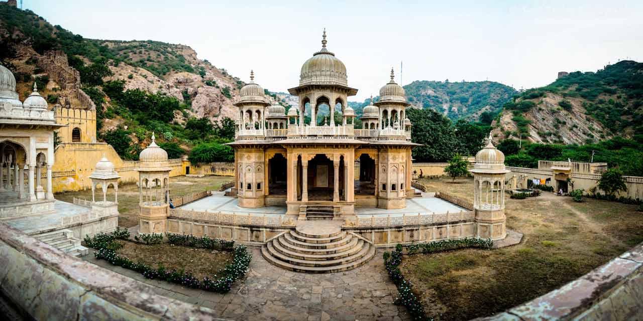 Image result for gatore ki chhatriyan jaipur
