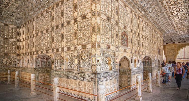 Sheesh Mahal Jaipur, India (Entry Fee, Timings, History